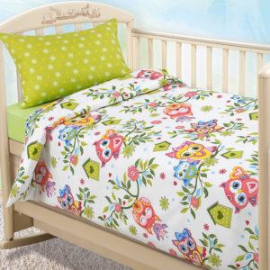 alt = Комплект постельного белья Совята
